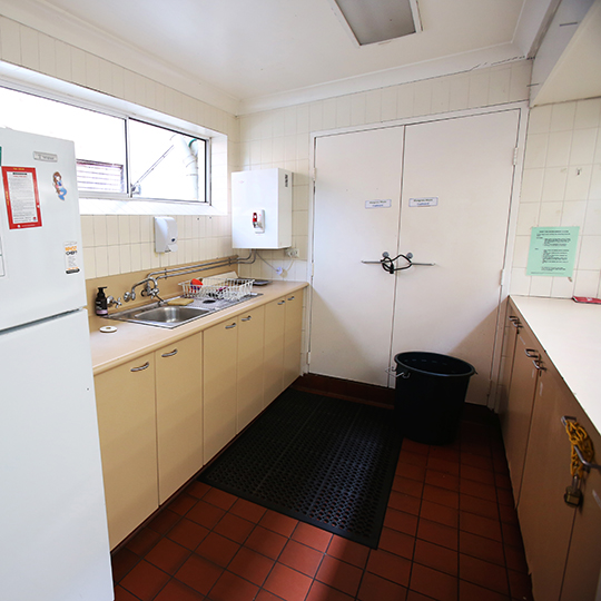 Kitchen For Back Room Annandale Community Centre